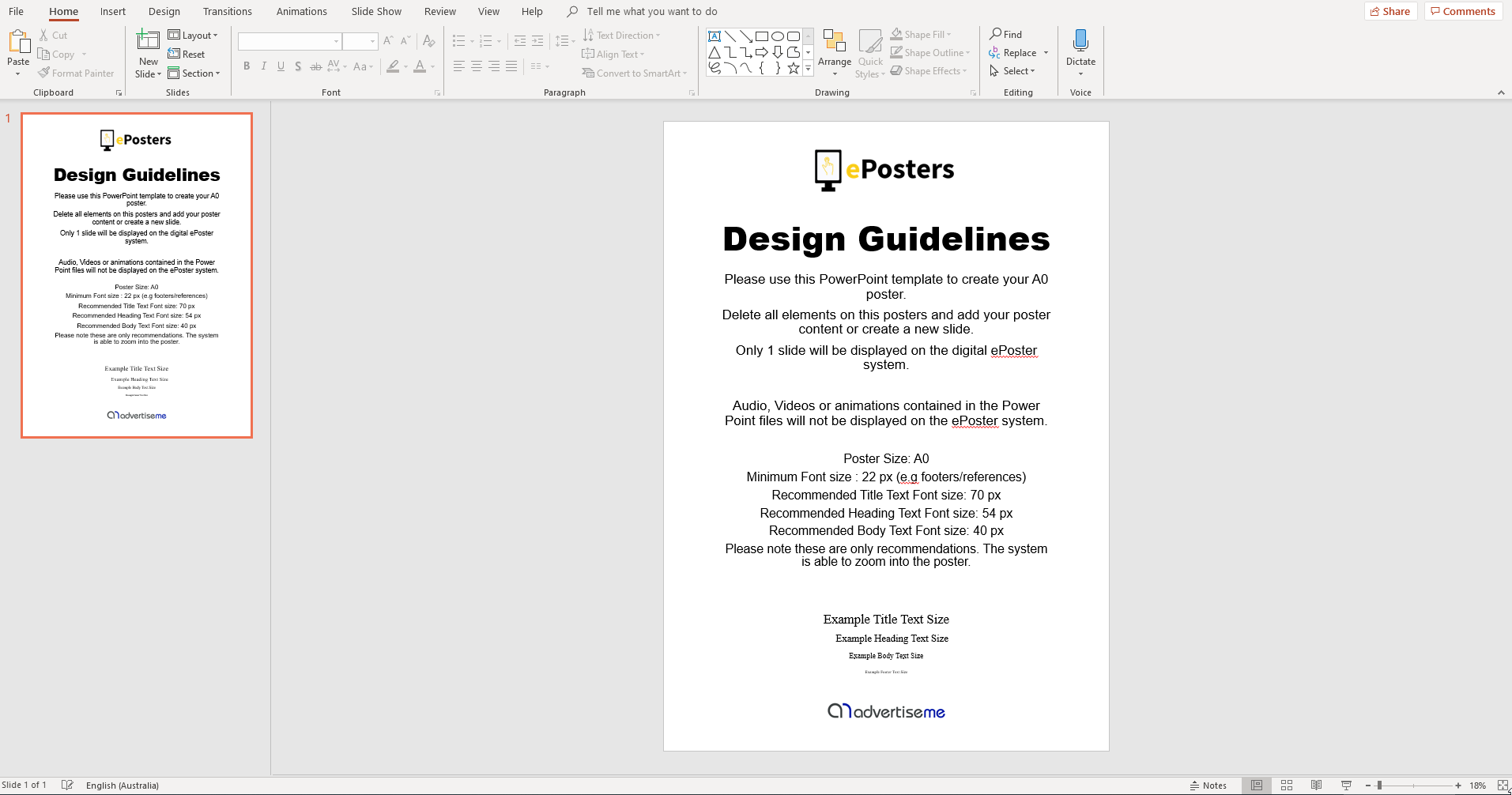 EPOSTER SUBMISSION GUIDELINES